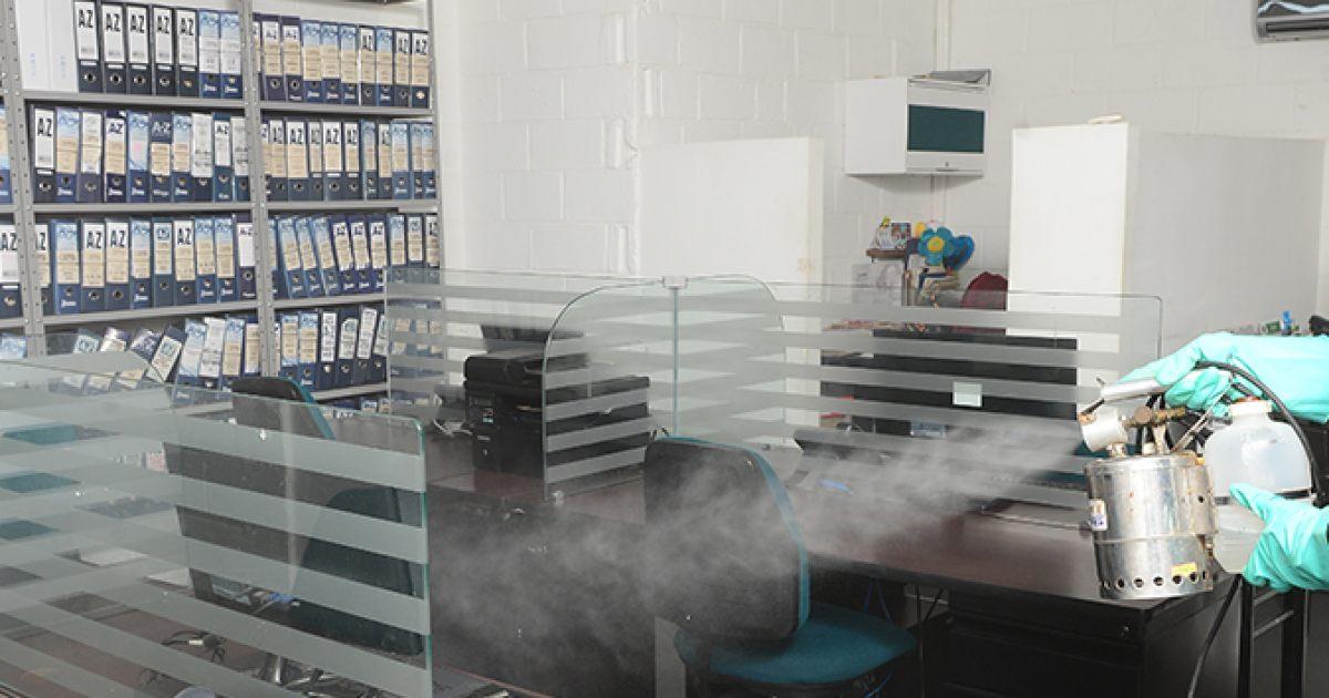 Importancia de sanitizar tu espacio de trabajo