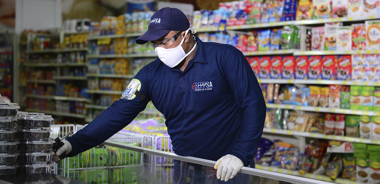 Control de plagas para las tiendas de comestibles